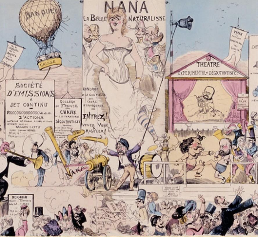 Image - La Grande Parade avec coups de tamtam, cris d'animaux et musique variée