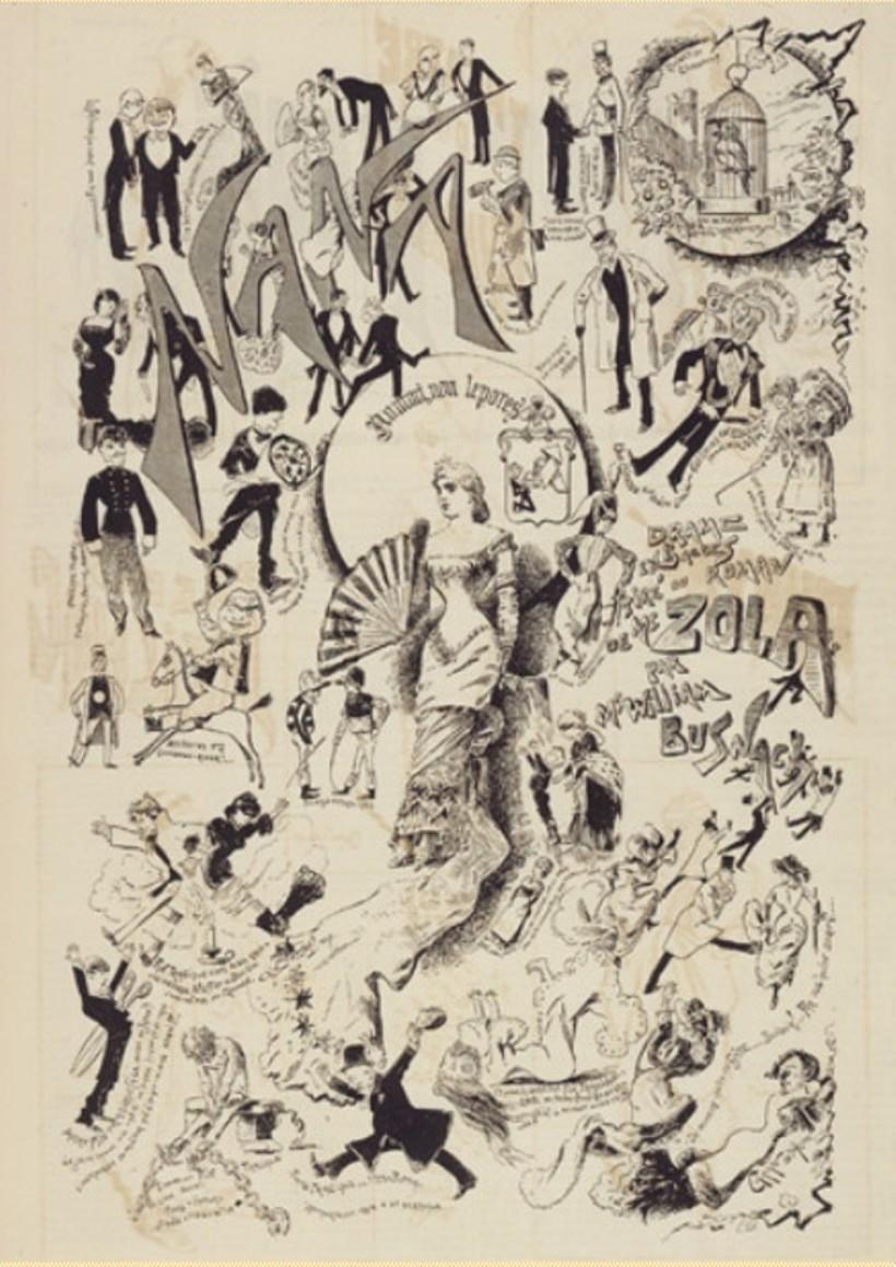 """Image - <em>Nana</em>, drame de William Busnach"""" /></a></p> </div><h3>Commentaires</h3><p>William réalise une adaptation théâtrale de <em>Nana</em>, en cinq actes et cinq tableaux. La création a lieu au Théâtre de l'Ambigu, le 29 janvier 1881.</p><h3>Auteur</h3><p>Non déterminé</p><h3>Date</h3><p>Vers 1881</p><h3>Mots-clés</h3><ul class="""