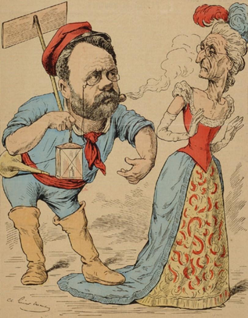 Image - M. Emile Zola et l'Académie
