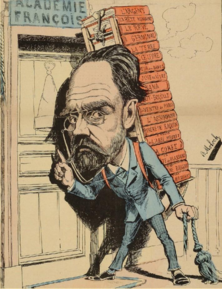 Image - Les septs péchés capitaux : L'envie, M. Emile Zola