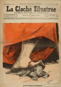 caricature 135 La cloche illustrée