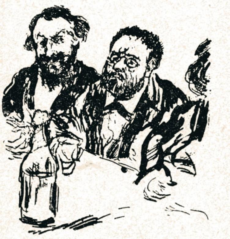 Image - Zola et Manet