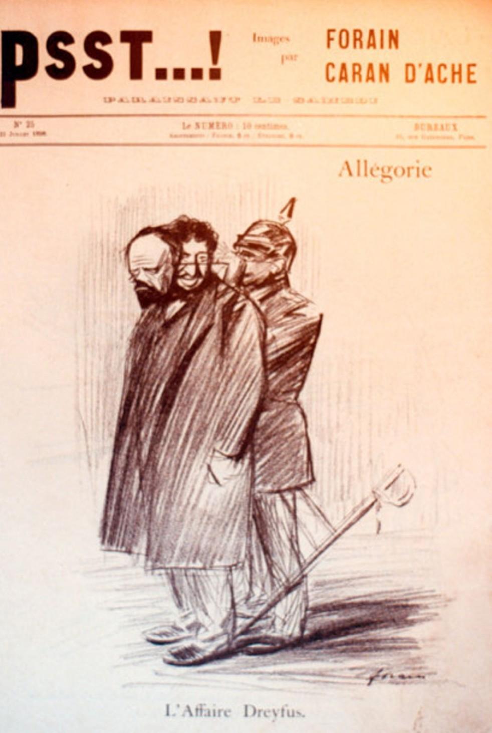 Image - L'Affaire Dreyfus - Allégorie