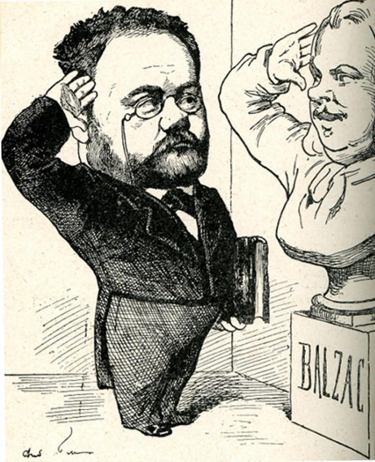 Image - Emile Zola et Balzac