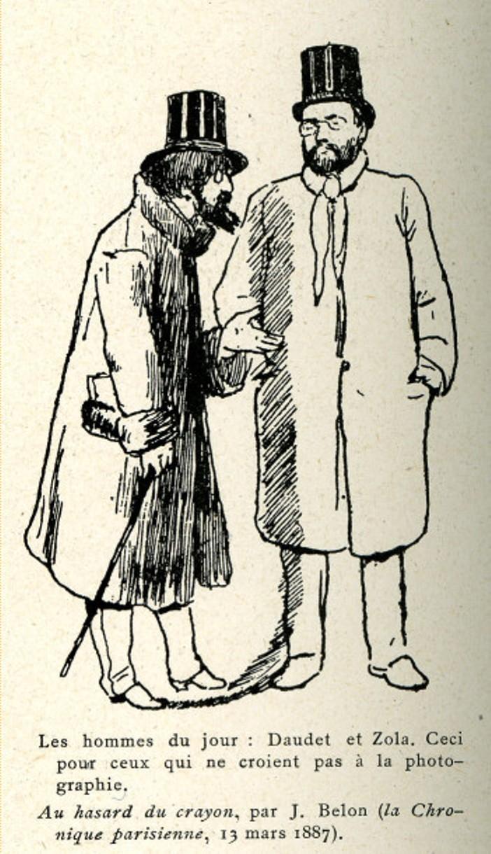 Image - Emile Zola et Alphonse Daudet