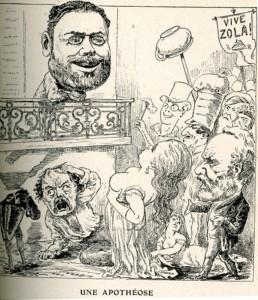 caricature 398 Une apothéose par Pasquin