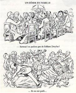 caricature 617 Un dîner en famille Caran d'Ache