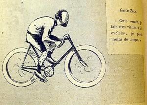 caricature 731 Visites à bicyclette