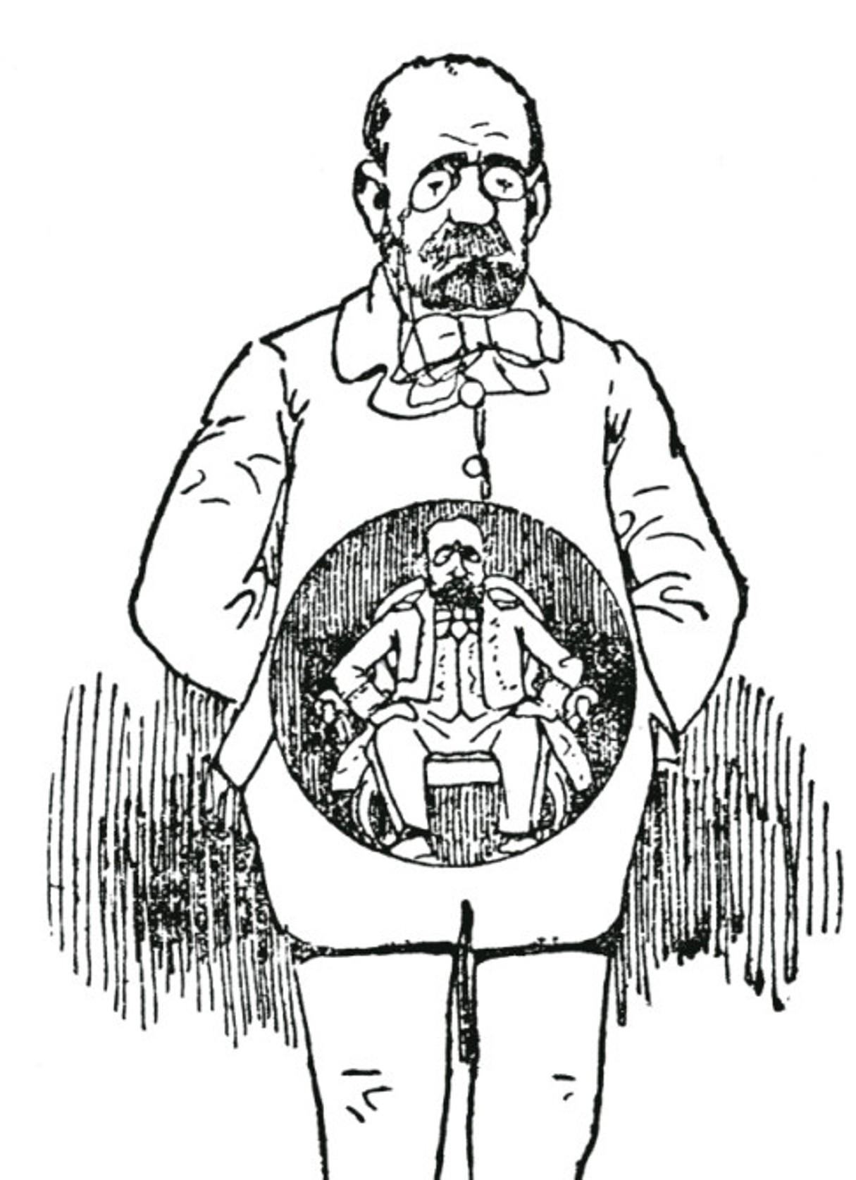 Image - La photographie de l'invisible, Emile Zola (l'estomac)