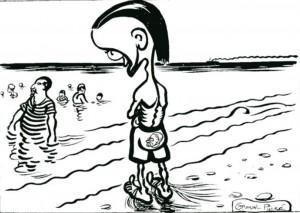 caricature 834 Noble dégoût par Caran d'Ache