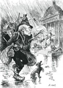 caricature 836 Académie par Lemot