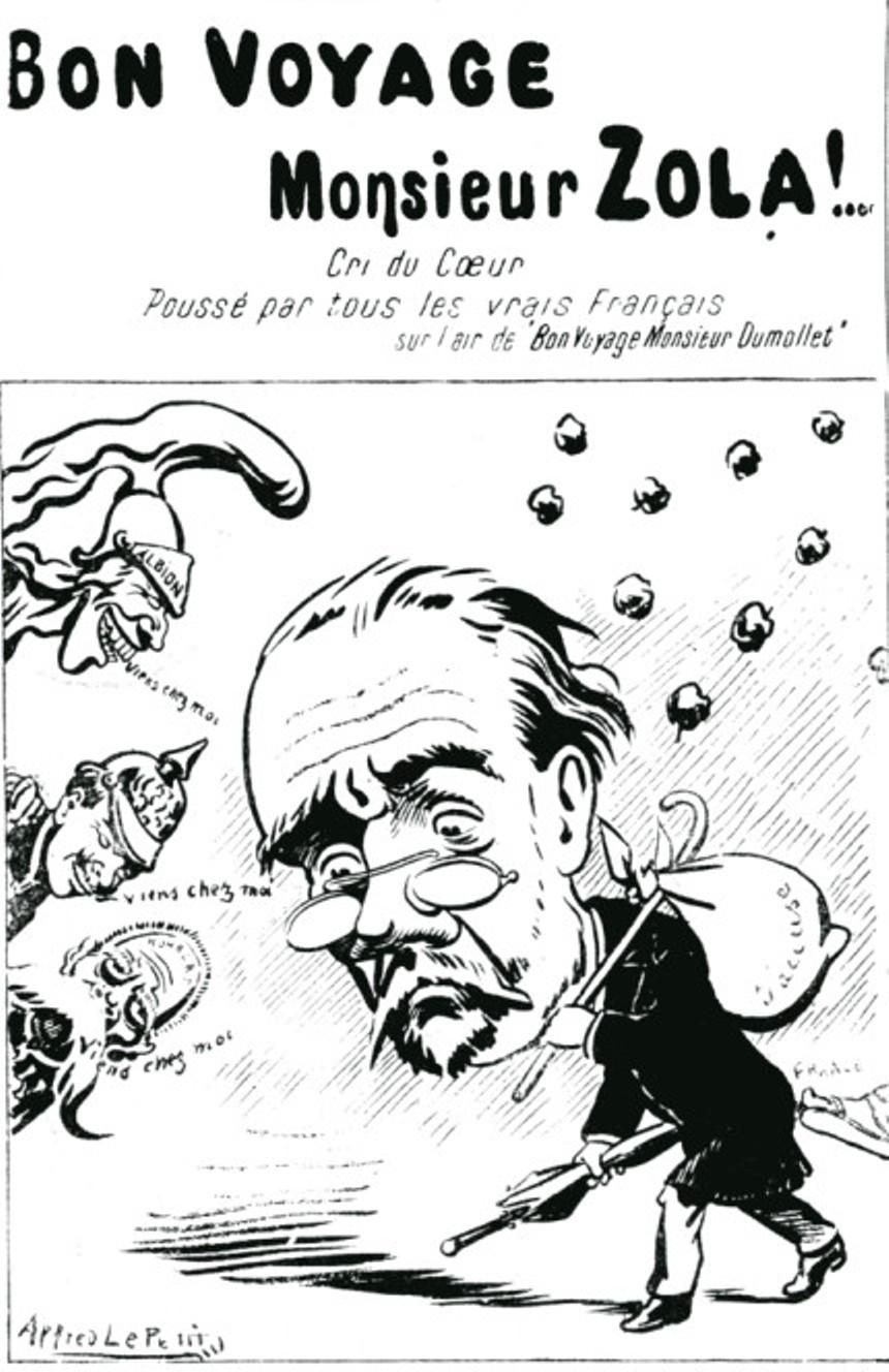 Image - Bon voyage Monsieur Zola