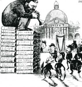 caricature 838 Académie par Blanchet-Magon