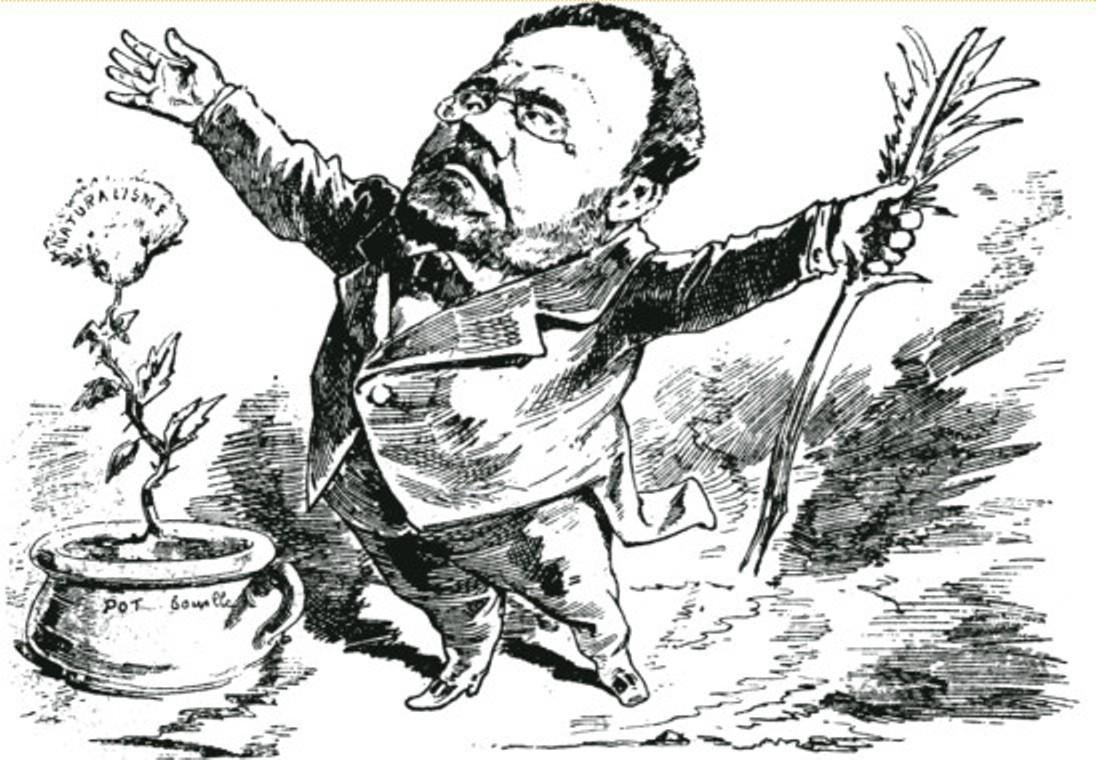 Image - Emile Zola, le naturalisme et le pot de chambre