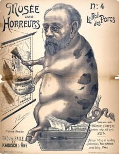 caricature 853 Musée des horreurs Zola n°4