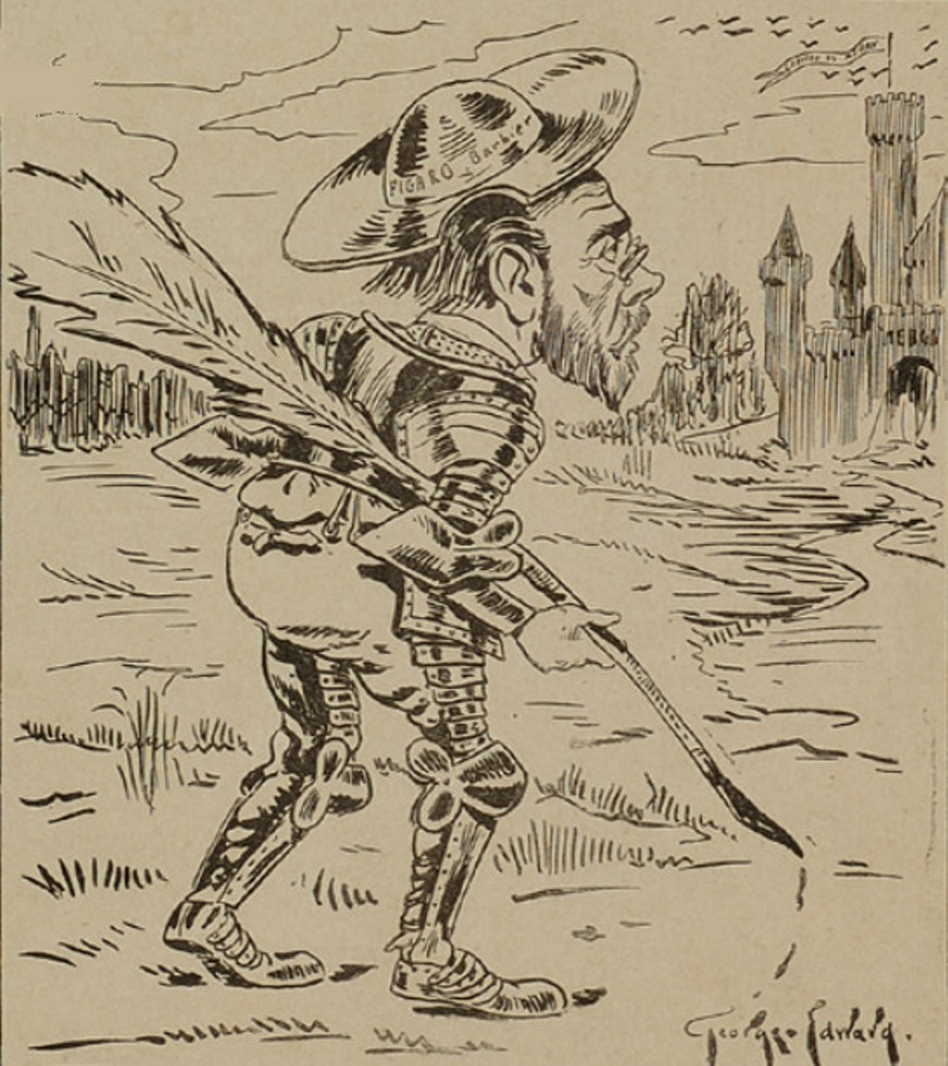 Image - Emile Zola tenant une plume