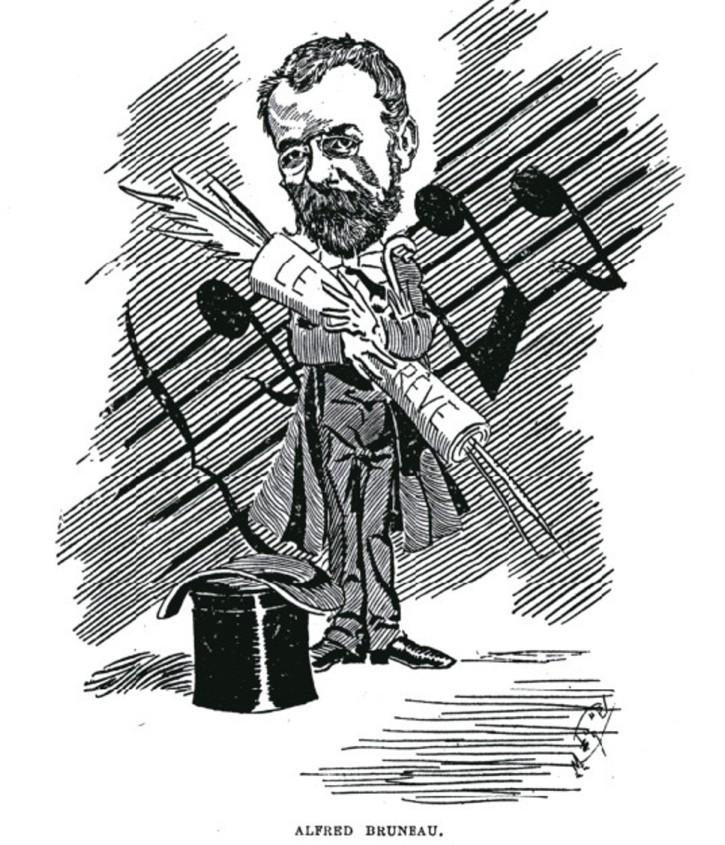 """Image - Alfred Bruneau et <em>Le Rêve</em>"""" /></a></p> </div><h3>Commentaires</h3><p>En 1888, le compositeur Alfred Bruneau rencontre Emile Zola. Naît alors une collaboration fructueuse autant qu'une amitié sans faille. Bruneau compose donc un drame lyrique d'après <em>Le Rêve</em>, paru en 1888. L'opéra est créé à l'Opéra-Comique le 18 juin 1891, sur un livret de Louis Gallet. Zola écrira, par la suite, de nombreux livrets en prose pour Bruneau, dont <em>Messidor </em>(Opéra, 1897), Lazare ou <em>L'Ouragan</em> (Opéra-Comique, 1901).</p><h3>Auteur</h3><p>Non déterminé</p><h3>Date</h3><p>4 avril 1891</p><h3>Origine</h3><p><em>La Vie parisienne</em>, 4 avril 1891</p><h3>Mots-clés</h3><ul class="""