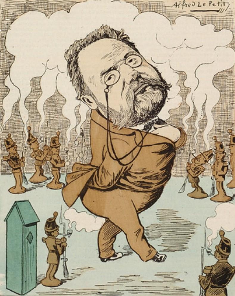 Image - Le Dieu Emile Zola
