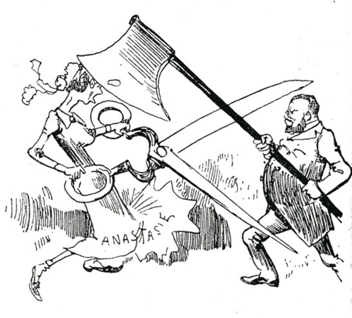 Image - Grand combat entre Zola et la censure