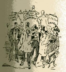 caricature 926 Fête de M. Zola