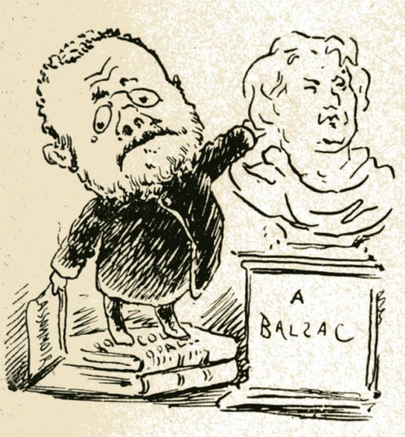 "Image - Zola ""A Balzac"""