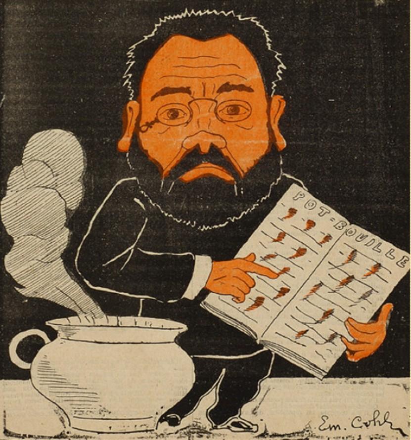 Image - Emile Zola ou l'art de mettre les virgules
