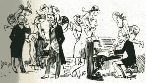 caricature 930 Musée Grévin Robida