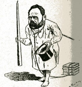 caricature 941 Académie française Gilbert-Martin