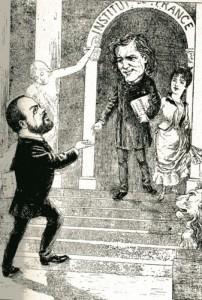 caricature 945 Académie française Coutan