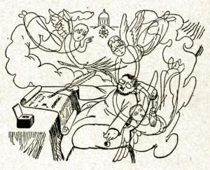 caricature 953 Le Rêve Caran d'Ache