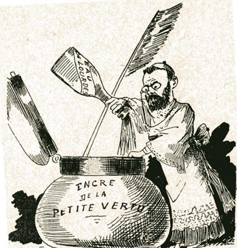 Image - Emile Zola préparant les matériaux de sa prochaine oeuvre