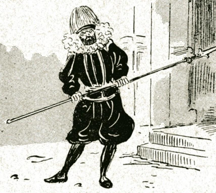 Image - Emile Zola en Garde suisse