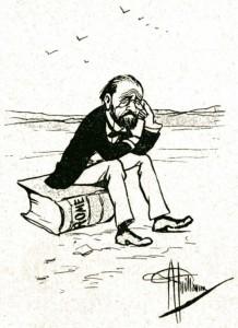 caricature 961 Académie française Guillaume