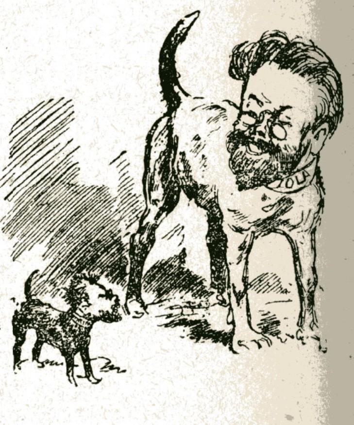 Image - Les conférences de Brunetières contre Zola
