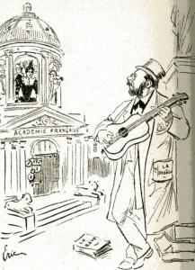 caricature 966 Académe française Eric