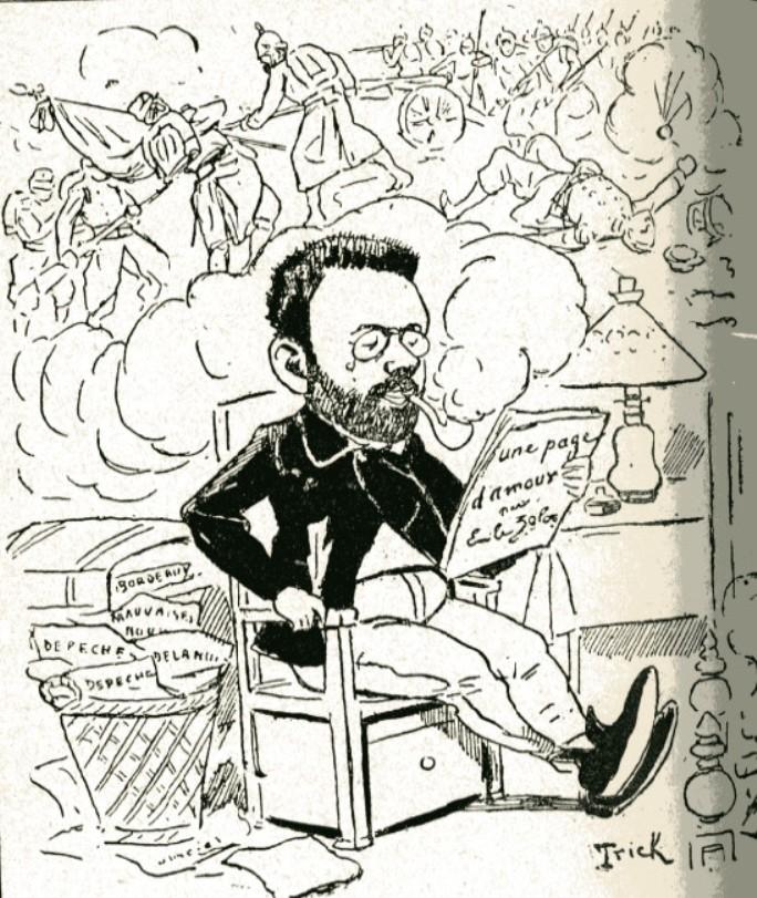 Image - Le patriotisme d'Emile Zola