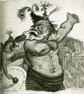 caricature 978 Zola Léandre
