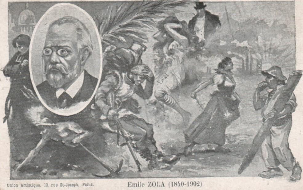 Image - Emile Zola et ses personnages