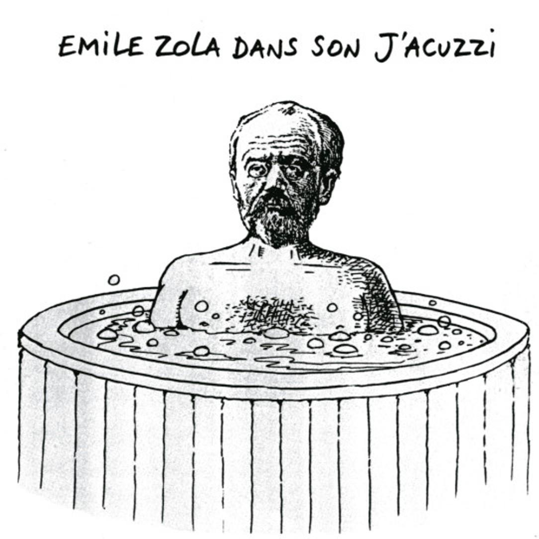 Image - Emile Zola dans son J'Acuzzi