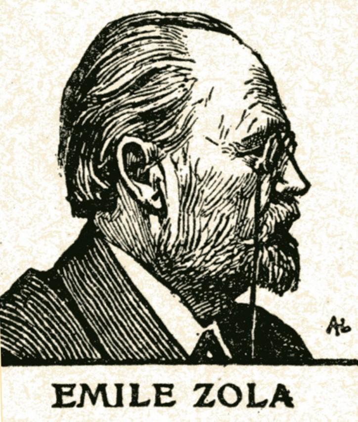 Image - Emile Zola de profil droit