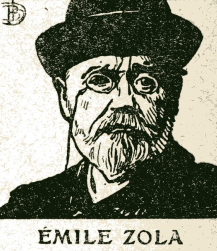 Image - Dernier portrait d'Emile Zola