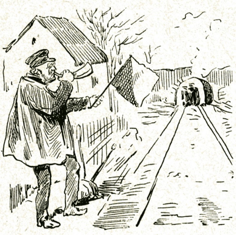 Image - Emile Zola en chef de gare
