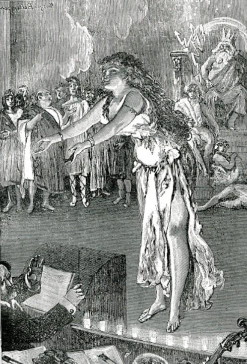 Image - Nana, en Vénus, chantant