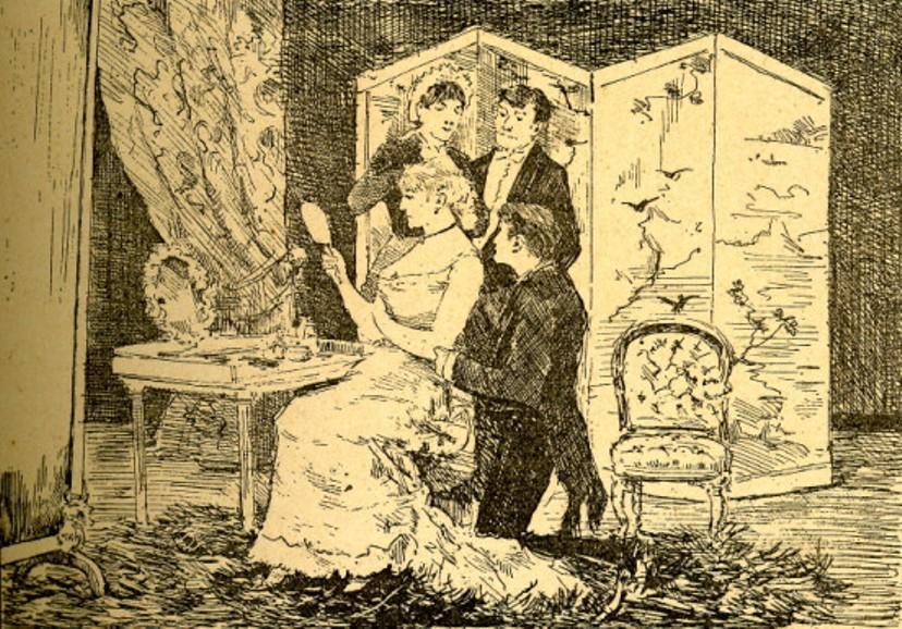 Image - Nana habillée par Zoé, Daguenet et Georges