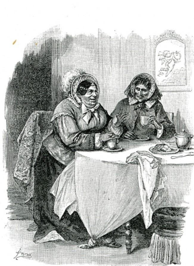 Image - Madame Lerat et Madame Maloir déjeunant chez Nana