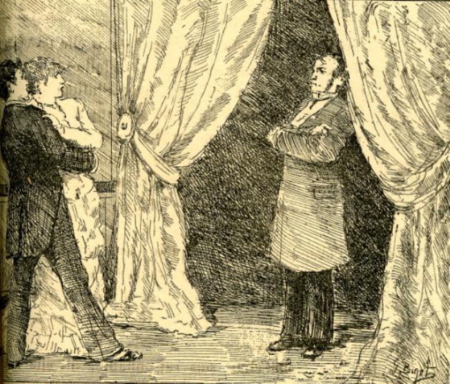 Image - Nana et Georges surpris par le comte