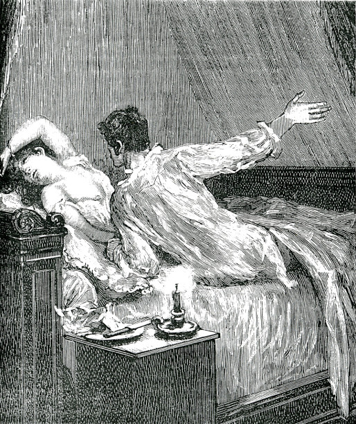 Image - Fontan gifle Nana dans son lit