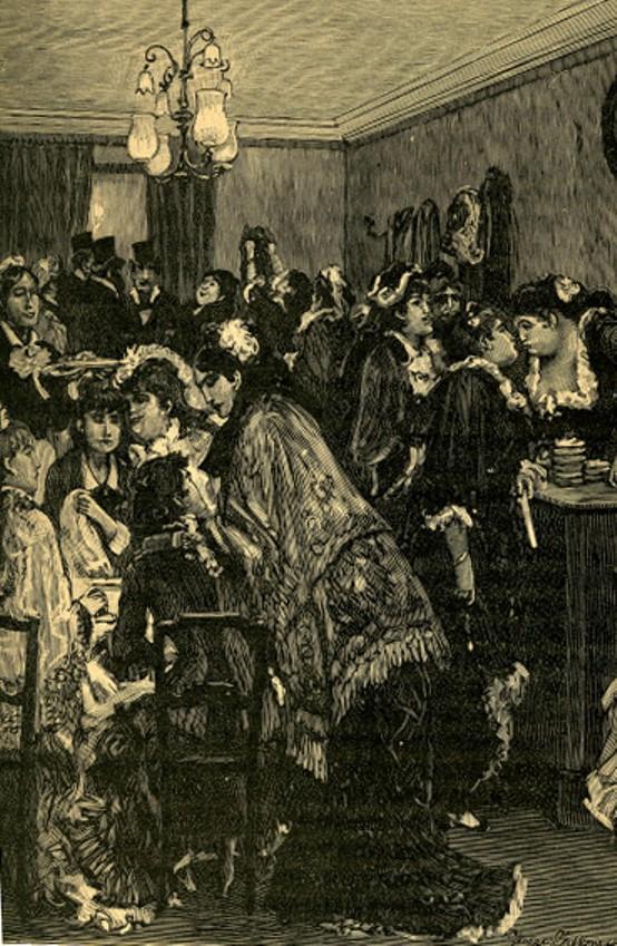 Image - La table d'hôte de Laure Piédefer, rue des Martyrs