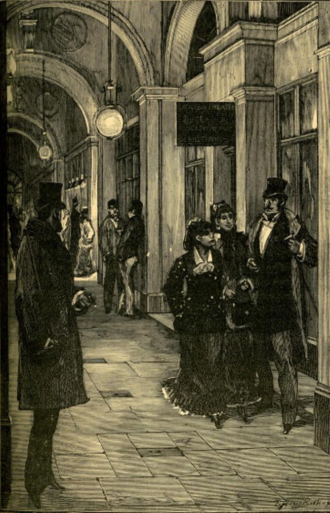 Image - L'entrée des artistes, passage des Panoramas