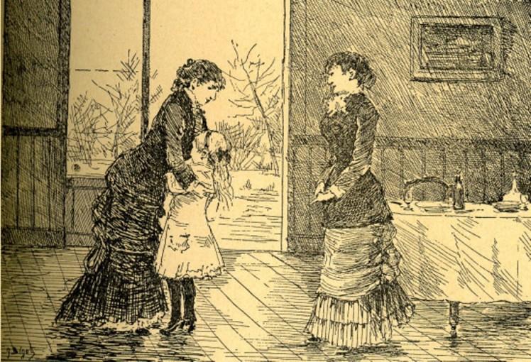 Image - L'arrivée de Louiset à la Mignotte